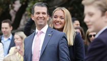 Donald Trump Jr. & Estranged Wife All Smiles At White House Easter Egg Roll