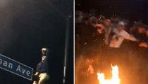 Villanova Students Rage, Set Fires After NCAA Championship