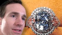 First Photo of Drew Brees' $8 Million Diamond