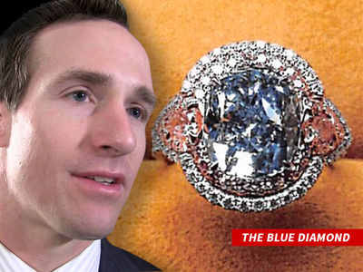 First Photo of Drew Brees' $8 Million Diamond