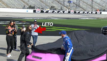 Jared Leto Hitches Ride with NASCAR Driver at 165 MPH