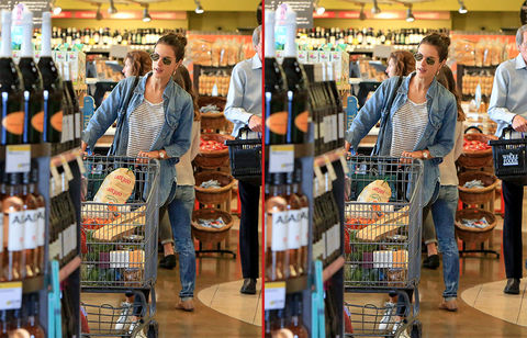 Can you spot the THREE differences in these Alessandra Ambrosio photos?