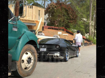 Cam Newton In Car Crash with Dump Truck