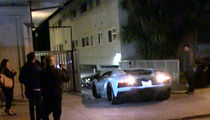Justin Bieber Finally Figures Out His Lamborghini Aventador, in Reverse