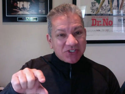 Bruce Buffer KO's TMZ Host in UFC 223 Name Game