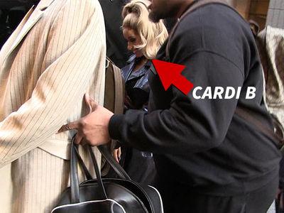 Cardi B's Team Swarming to Hide Pregnancy