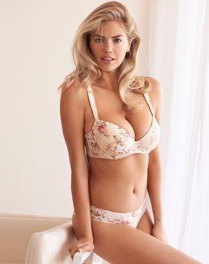 Kate Upton Modeling Yamamay Lingerie