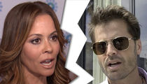 Brooke Burke Divorcing David Charvet