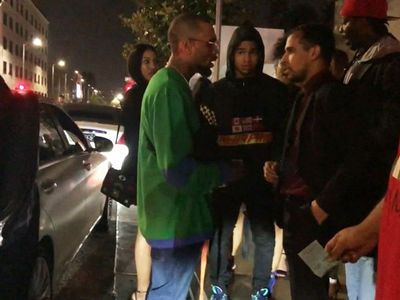 Chris Brown Gets Pissed at Valet, 'I Should Knock You Out'