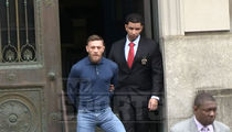 Conor McGregor Leaves Police Station In Handcuffs