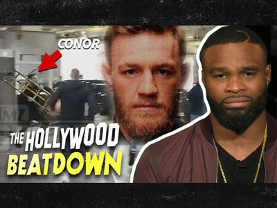 Tyron Woodley Calls Conor McGregor 'Disgrace to Mankind'