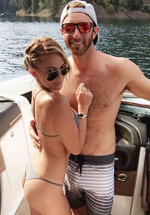 Dustin Johnson's fiance Paulina Gretzky