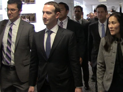 Mark Zuckerberg Puts on Suit and Tie for Capitol Hill Meetings