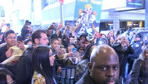 Cardi B Mobbed by Fans Outside MTV