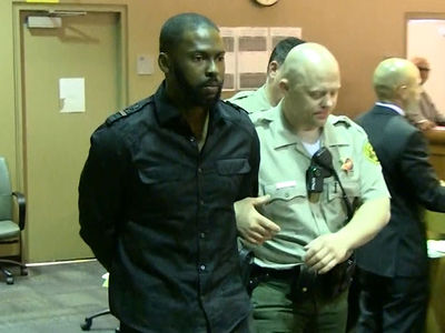 Milton Bradley Handcuffed In Court at Domestic Violence Hearing