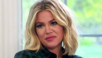 Khloe Kardashian Having 'Early Contractions' as Mom & Sisters Fly to Cleveland