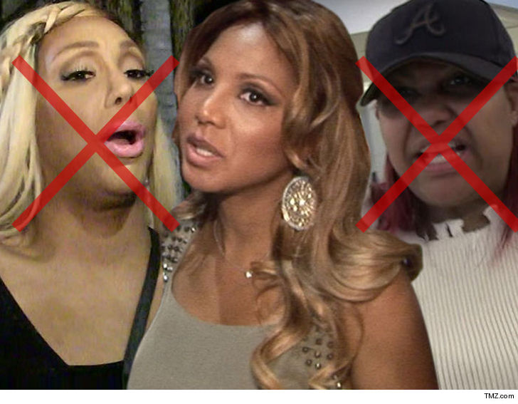 Toni Braxton Drops Another Sister From Tour Tamar S Out Tmz Com