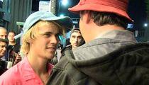 Justin Bieber Throws Away 'Fake' $100 Bill From Strange Man