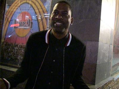 Tony Rock Says 'Everybody Cheats on Kardashians'