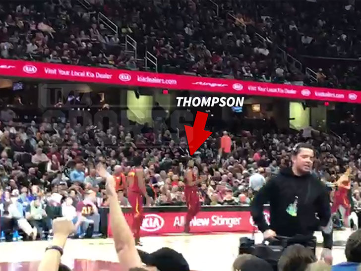 58c13143c1e Tristan Thompson Only Lightly Booed at Cavs Game in Wake of Cheating on  Khloe Scandal