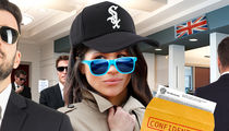 Meghan Markle Flies In to Chicago to Complete UK Visa Application