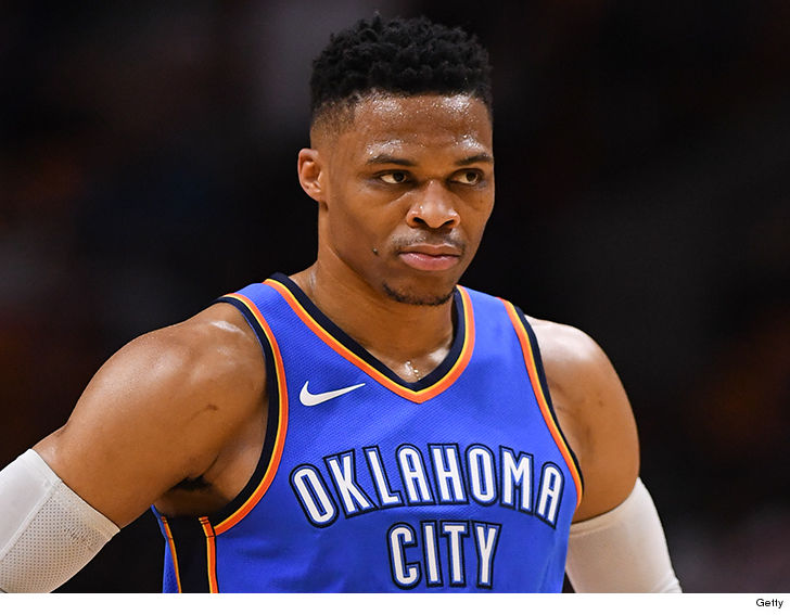 18364281c OKC Thunder Blasts Announcer Who Said Russell Westbrook Is Out Of His   Cotton-Picking Mind . Exclusive Details