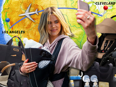 Khloe Kardashian Spends $4k on Baby Travel Items