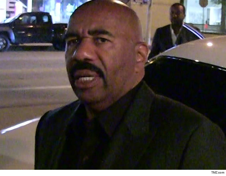 b02377f28 Steve Harvey and his talk show producers are being accused of tarting up a  hardworking single mom