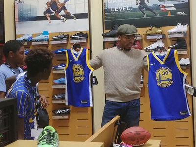 Cam Newton Helps Special Olympics Athletes In Awesome Shopping Spree!