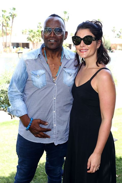 Jessie Ware and Randy Jackson