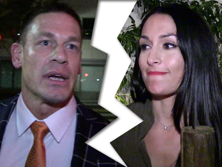 John Cena And Nikki Bella Break Up Tmz
