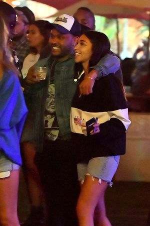 The Weeknd Packs On Some PDA with Chantel Jeffries at Coachella