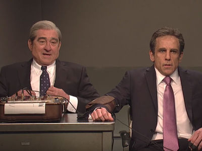Ben Stiller, Robert De Niro Play Michael Cohen and Robert Mueller on SNL