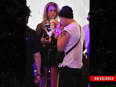Brooklyn Beckham Parties at Coachella with Model Meredith Mickelson
