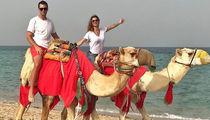 Tom Brady & Gisele Camel Ridin' Like Royalty on Middle East Adventure