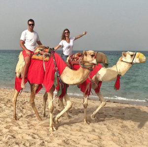 Tom Brady and Gisele Bundchen -- Qatar Hero