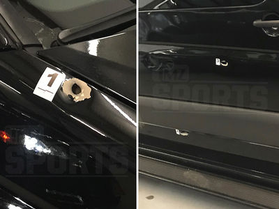 Floyd Mayweather Shooter Fired 12 Shots, Photos off Bullet-Riddled Van