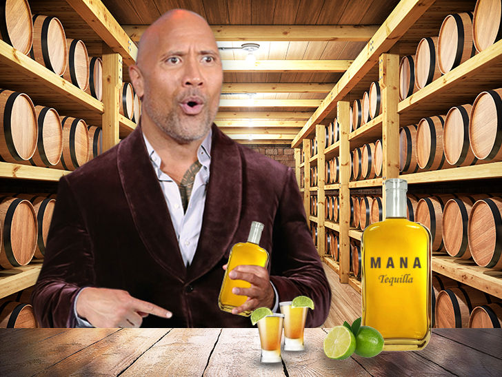 Dwayne The Rock Johnson Makes Mana Tequila Official