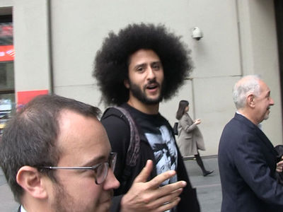 Colin Kaepernick Hits NFL Headquarters to Depose Roger Goodell, 'I'm Doing Great'