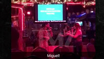 Miguel Surprises Fan Singing 'Sure Thing' at Karaoke Bar