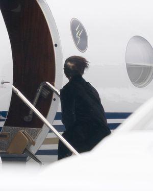 Kardashian Family Departing Cleveland