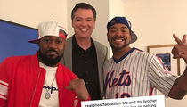 James Comey Hanging Out with Wu-Tang Clan's Method Man and Ghostface Killah