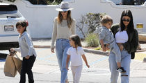 Kourtney Kardashian Celebrates 39th Birthday with Her Kids