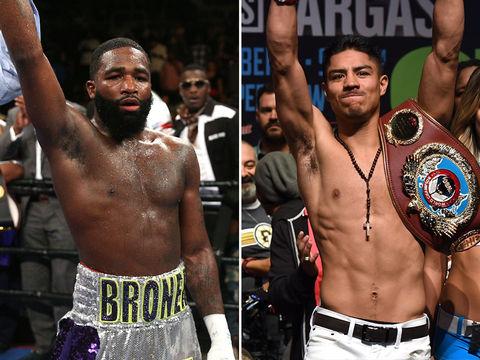 Adrien Broner (28) vs. Jessie Vargas (28) -- Boxing Edition
