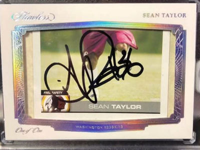 Sean Taylor Rare Autographed Card Sells for $13,000