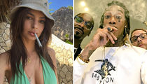 Smoking Stars ... Blaze Through 4/20 With These Lit Pics!