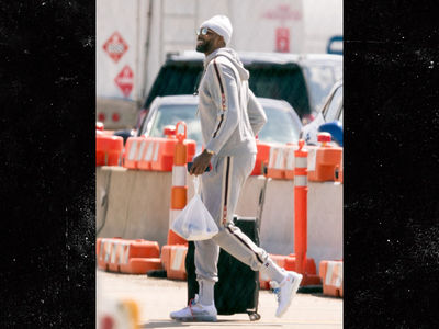 Tristan Thompson All Smiles Leaving Cleveland and Khloe for Playoffs