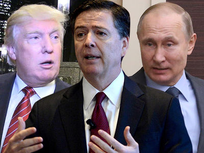 Donald Trump Said Vladimir Putin Bragged About Russia's Hookers, According to Comey Memo