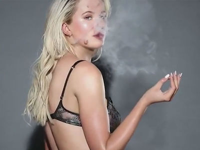 Ireland Baldwin Can't Wait for 4/20, Sparks Up Early