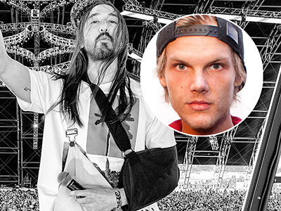 Avicii's Death DEVASTATES Steve Aoki -- 'So Hard to Write This Out'